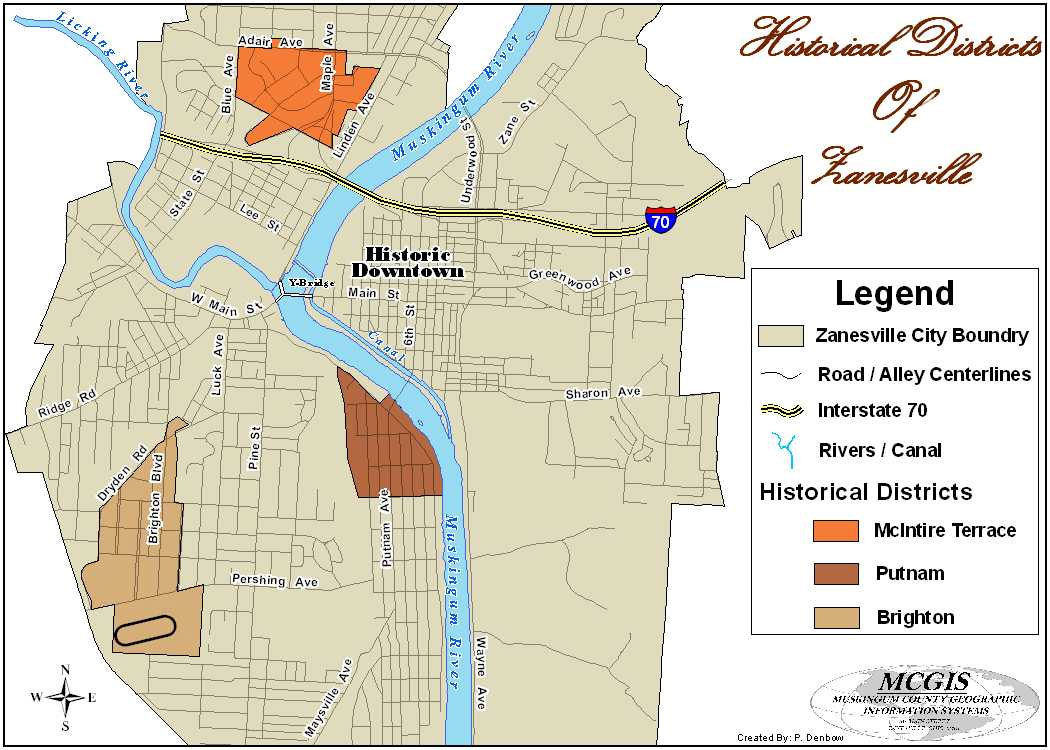 Muskingum County Historical Districts